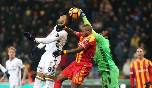 Fenerbahçeye Kayseride büyük şok
