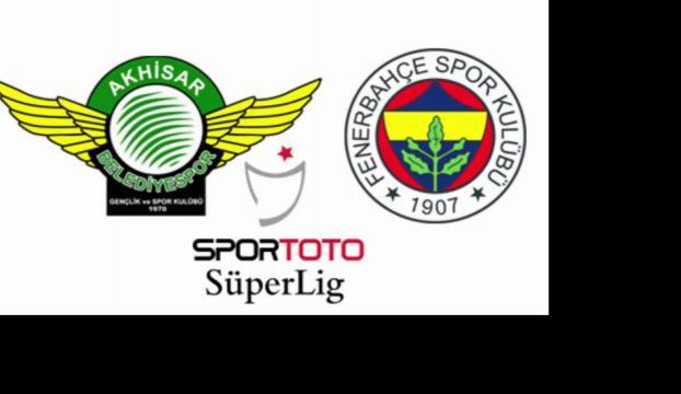 Fenerbahçe ile Akhisar Belediyespor 9. randevuda
