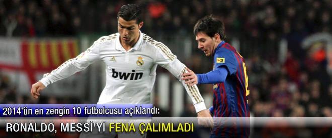 Ronaldo, Messi'yi fena çalımladı