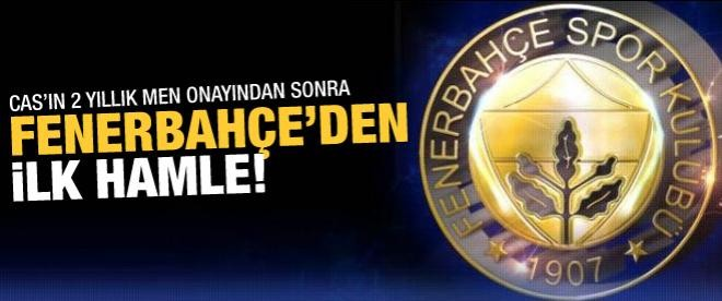 Fenerbahçe'den ilk hamle