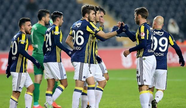 Fenerbahçe, Türkiye Kupasında galibiyetle turladı