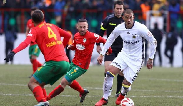 Fenerbahçe Amed Siportifi geçemedi