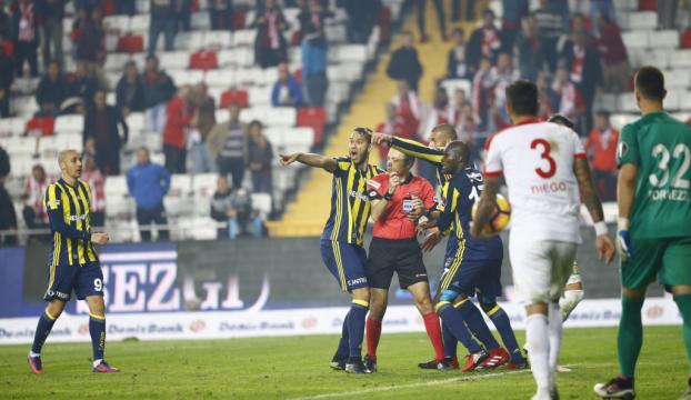 Fenerbahçe Antalyada mağlup