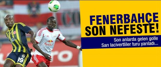Fenerbahçe turu yarıladı: 1-1
