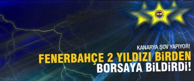 Fenerbahçe Cardozo ve Emenike'yi borsaya bildirdi