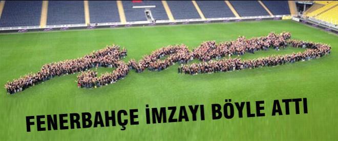 Fenerbahçe yaptı mı böyle yapar