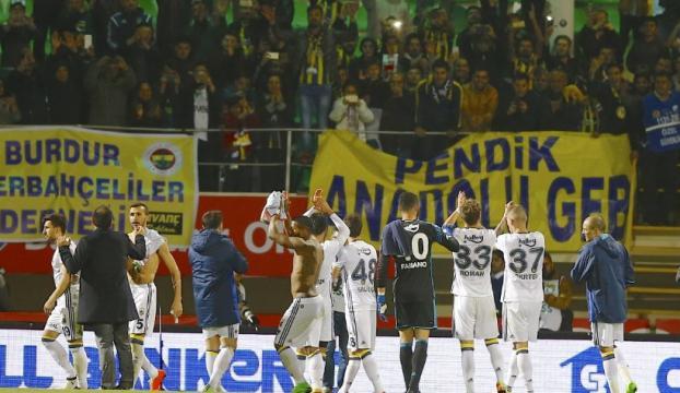 Fenerbahçe Alanyada kendine geldi!