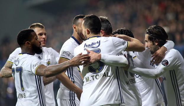 Fenerbahçe üç puanı tek golle aldı