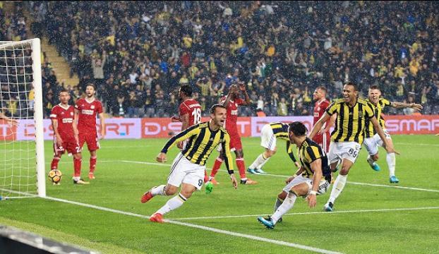 Seri bitiren takım Fenerbahçe
