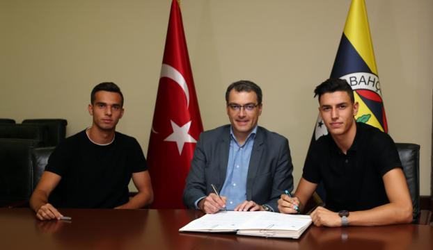 Berke Özer ve Barış Alıcı, Fenerbahçede