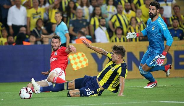 Fenerbahçeden Şampiyonlar Ligine veda
