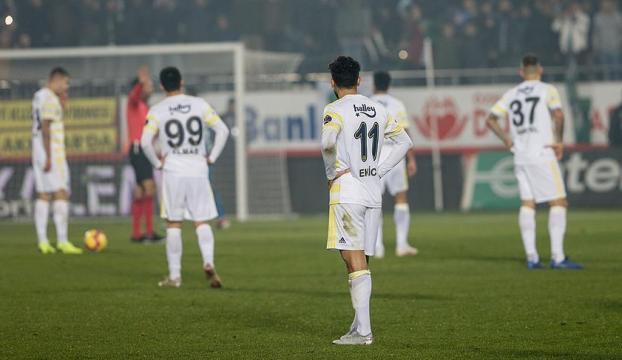 Fenerbahçe düşme hattında