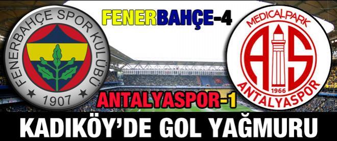 Fenerbahçe - Antalyaspor maçı canlı anlatım