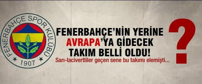 Fenerbahçe'nin yerine APOEL