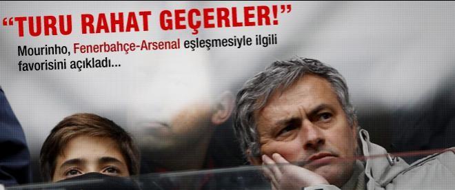 Mourinho favorisini açıkladı! Fener mi? Arsanl mi?