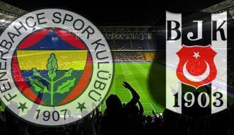 Fenerbahçe - Beşiktaş derbisinin başlama saati belli oldu