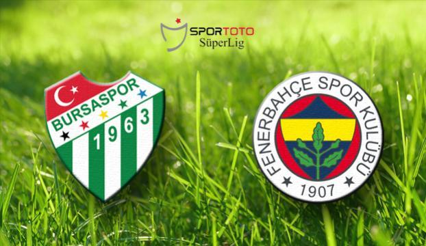 Fenerbahçe, Bursaspor deplasmanında