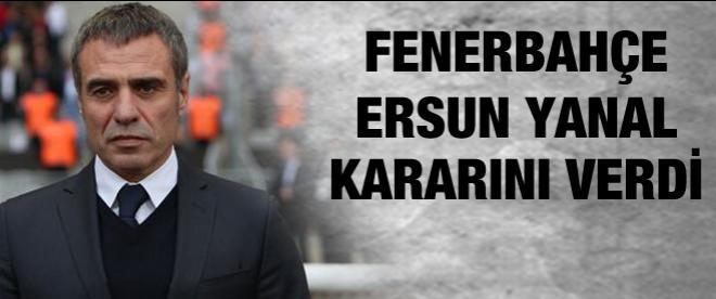 Fenerbahçe, Ersun Yanal ile sözleşme imzalayacak