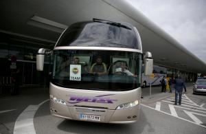 Fenerbahçe kafilesi Graz'a geldi