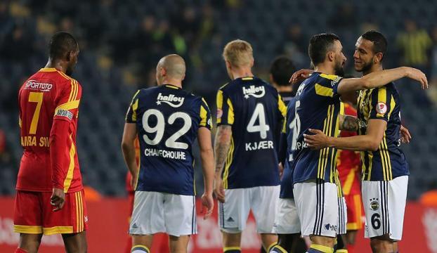 Fenerbahçe zorlanmadı! 3-0