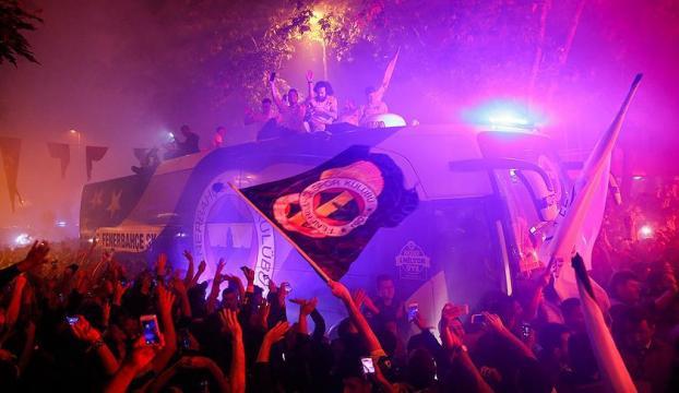 Fenerbahçe, THY Avrupa Ligi şampiyonluğunu kutladı