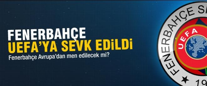 UEFA, Fenerbahçe'yi disipline sevk etti