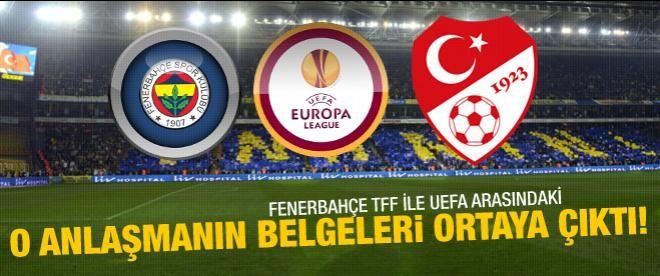 Fenerbahçe, UEFA ile TFF arasındaki pazarlığı ispatladı
