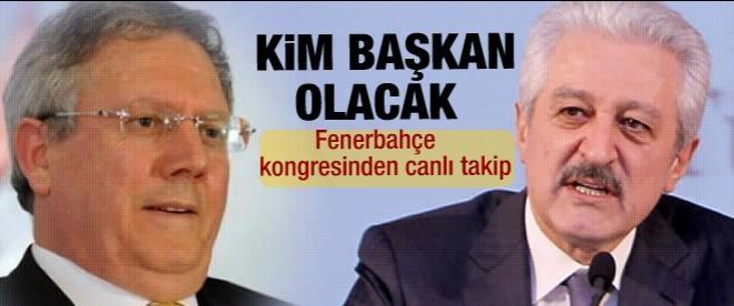 Fenerbahçe'de oy verme işlemi başladı