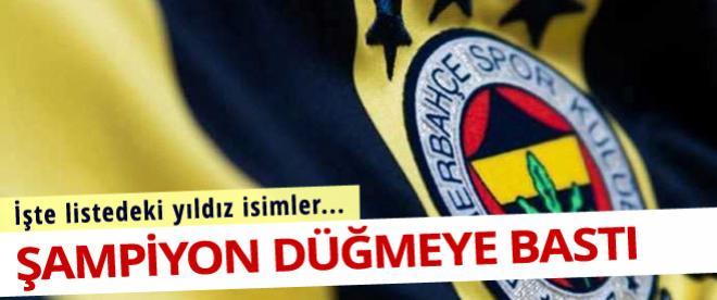 Fenerbahçe'de yeni sezonun çalışmaları başladı