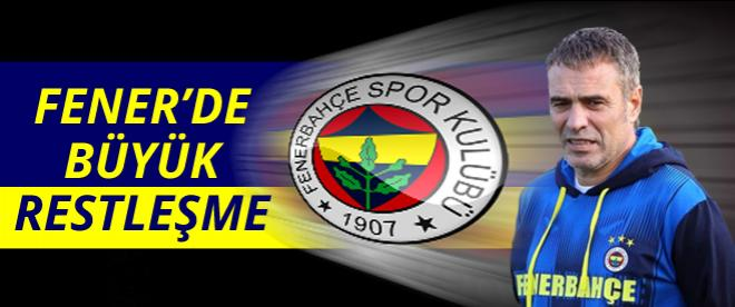 Fenerbahçe'de büyük restleşme