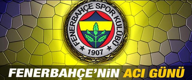 Fenerbahçe'nin acı kaybı