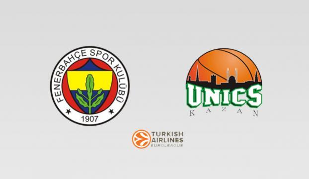 Fenerbahçe, Unics Kazanı konuk edecek