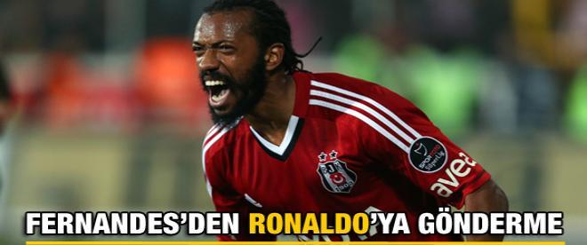 Fernandes Ronaldo'ya göndermede bulundu