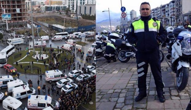 Şehit polis Fethi Sekin, Elazığdaki kabri başında anıldı