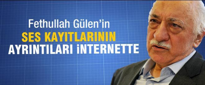 Fethullah Gülen'in ses kayıtları