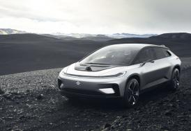Faraday Future'ın sürücüsüz elektrikli aracı ortaya çıktı