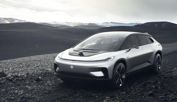Faraday Futureın sürücüsüz elektrikli aracı ortaya çıktı