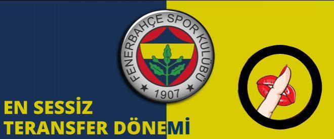 Fenerbahçe'de en sessiz transfer dönemi