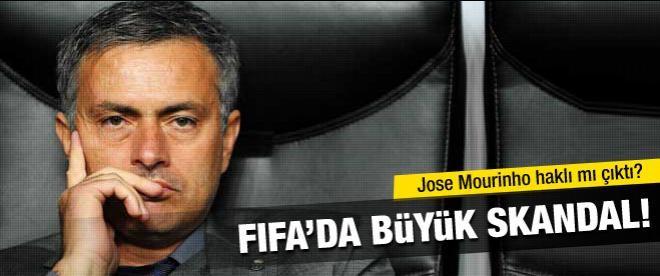 FIFA'da büyük skandal!