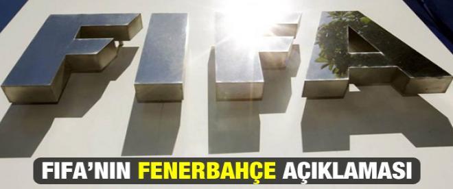FIFA'nın Fenerbahçe açıklaması