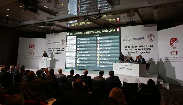 Süper Ligde 2020-2021 sezonu fikstürü çekiliyor