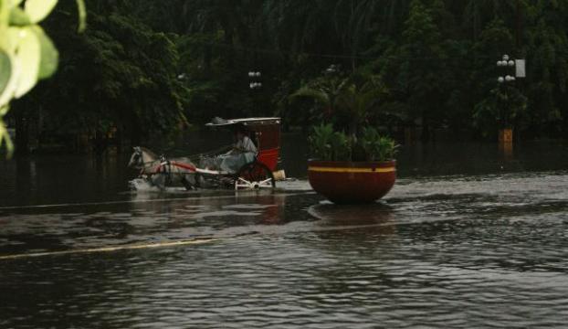Filipinlerda muson yağışları ve sel