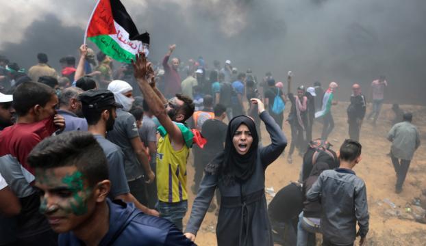 Gazzede şehit edilen Filistinli sayısı 43e yükseldi
