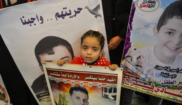 İsrail hapishanelerindeki Filistinli tutuklular yardım bekliyor