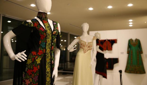 BMde Filistin moda ve sanatını konu alan sergi