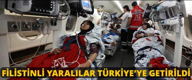 Filistinli yaralılar Türkiye'de
