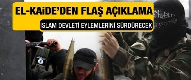 El Kaide'den flaş açıklama!