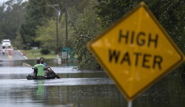 Florence Kasırgasında ölenlerin sayısı 17ye yükseldi