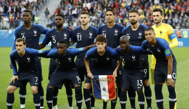 Finale yükselen ilk takım Fransa oldu