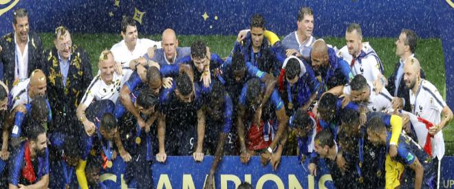 Şampiyon Fransa!